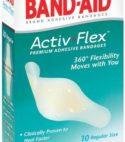 10 Active-Flex Premium Adhesive Bandages