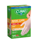 100 Basic CareVinyl Exam Gloves L/XL