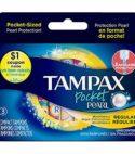 Tampex 3 Compact Tampons Regular